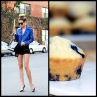 tasteful fashion: blueberry muffin