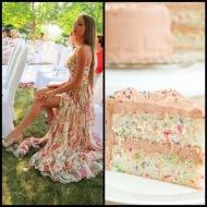 tasteful fashion: funfetti cake