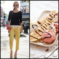 tasteful fashion: banana split