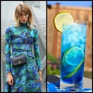tasteful fashion: aqua punch
