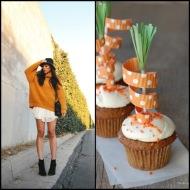 tasteful fashion: carrot cupcake