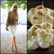 tasteful fashion: toasted marshmellow