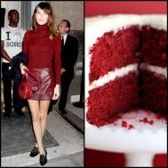 tasteful fashion: red velvet