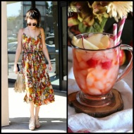 tasteful fashion: apple tea punch