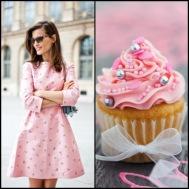 tasteful fashion: vanilla cupcake
