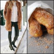 tasteful fashion: cinnamon sugar soft pretzels