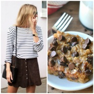 tasteful fashion: baked oatmeal bars