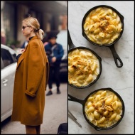 tasteful fashion: creamy mac and cheese