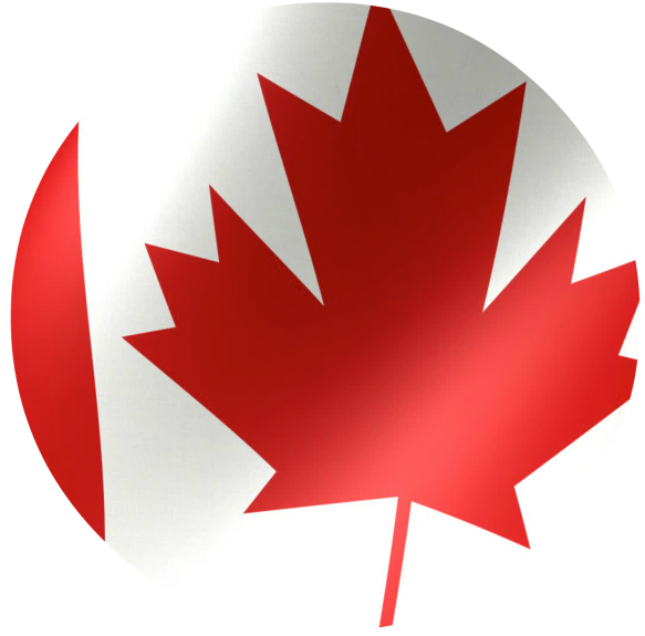 canadian flag-Stock video JPEG