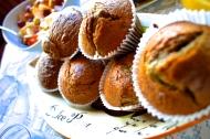 blueberry choc. chip muffins